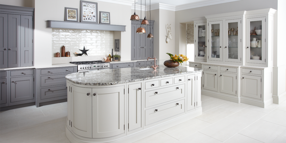 classic kitchen, electric hob