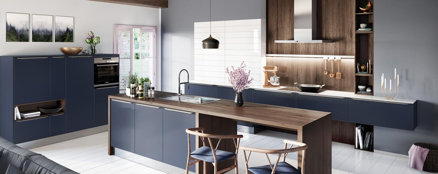 kitchens glasgow, hob unit